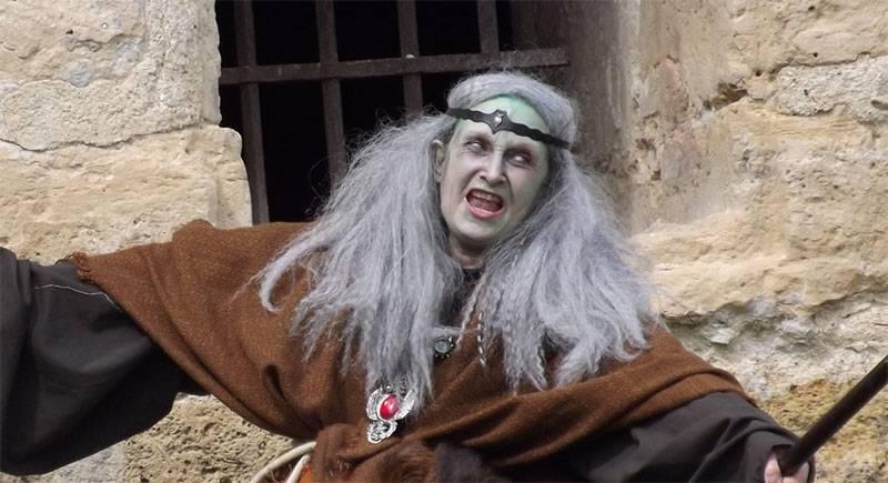 Bruja Maquillaje Halloween