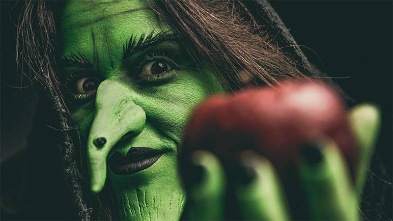 maquillaje de bruja halloween
