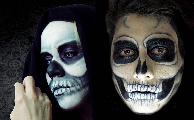 Maquillaje Halloween Calavera