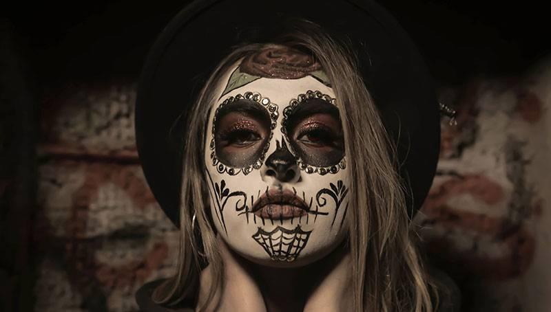 maquillaje halloween mujer