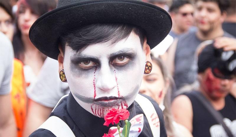 El Mas Original Maquillaje De Halloween Para Un Hombre 2018 - Maquillaje-zombie-hombre