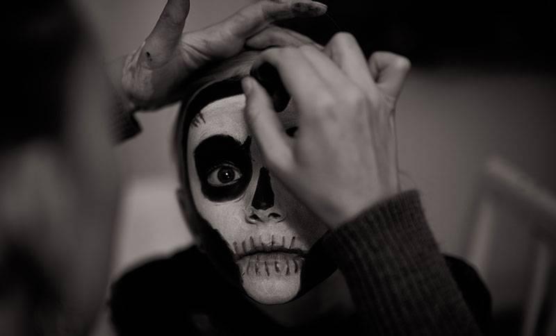 Maquillaje Niños Halloween Casero