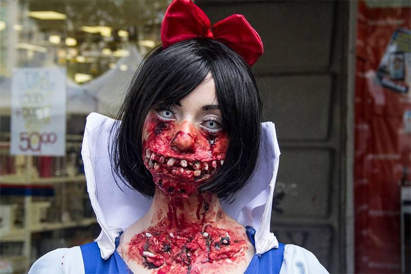 maquillaje halloween heridas