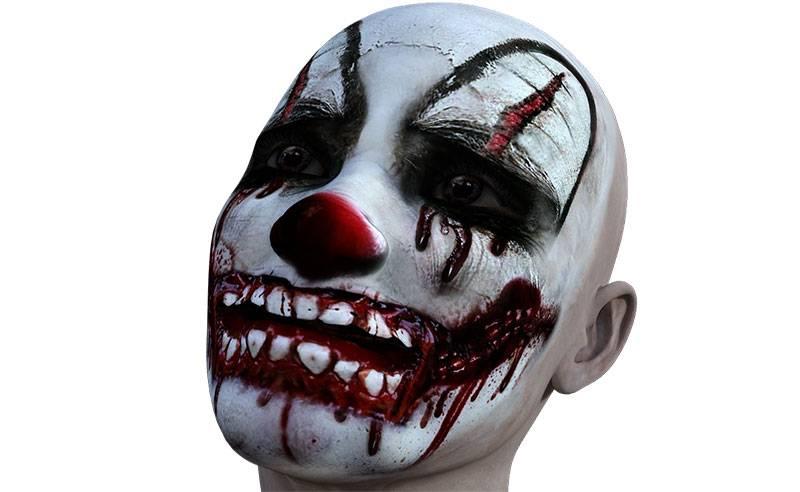 maquillaje payaso halloween